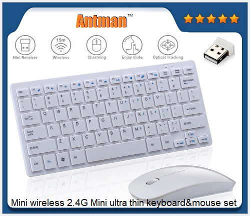 Hot Sale 89 KEYS Portable ABS 2.4G Wireless Mouse And Keyboard Set