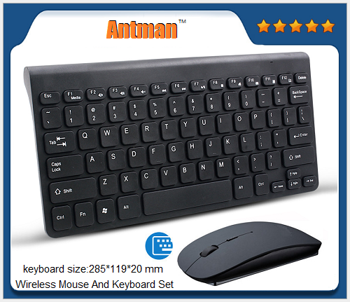 Hot Sale 78 KEYS Portable ABS 2.4G Wireless/Bluetooth3.0 Mouse And Keyboard Set