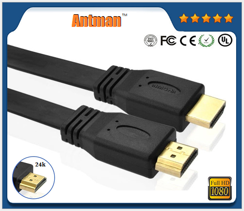 High Speed 1080P 4K Flat 1.4 Version HDMI with Ethernet Cable for TV PS4 XBOX