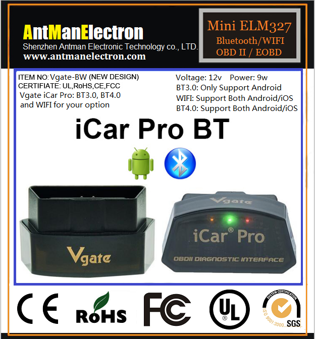 iCar Pro BT 4 0/WIFI Scanner For Android/IOS Car Diagnostic